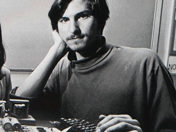 Steeve Jobs jeune Xerox