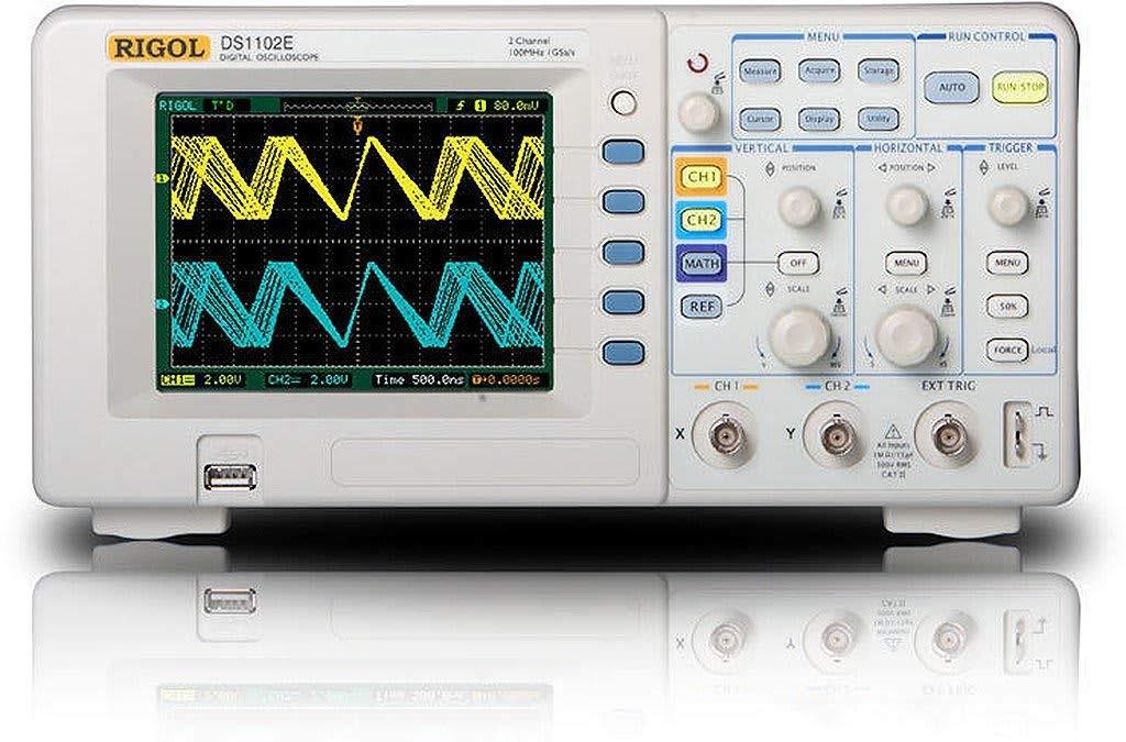 Oscilloscope numerique rigol DS1102E