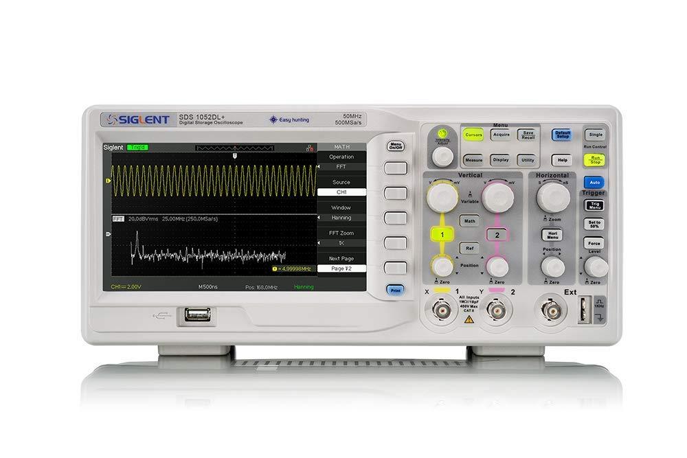 oscilloscope numérique siglent