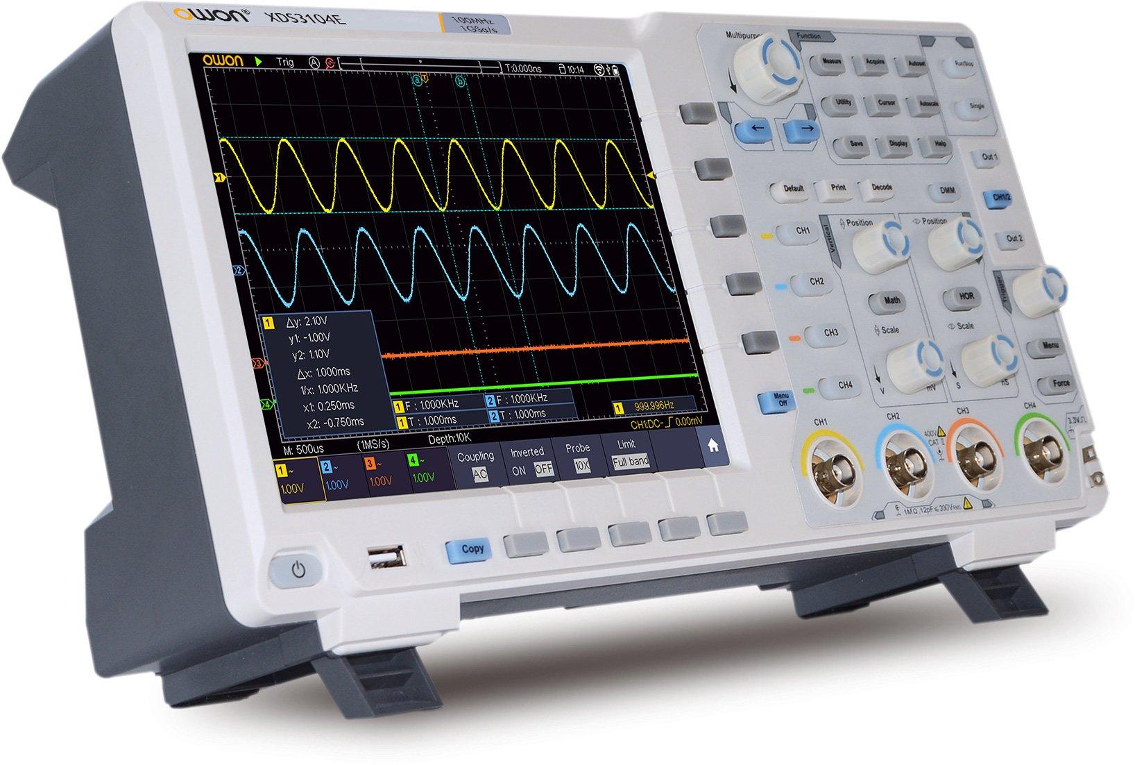oscilloscope numérique ou analogique