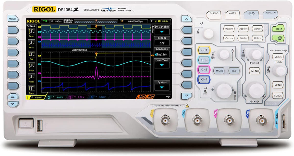 Oscilloscope numérique Rigol