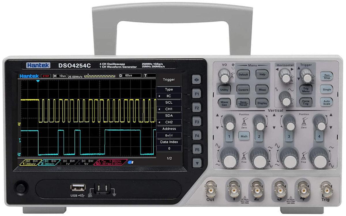 oscilloscope hantek